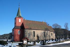 Hedrum Kirke - Kirkelig seremoni